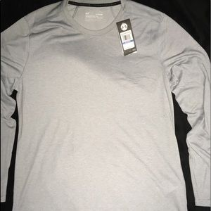 Under Armour Lite Silver Long Sleev Men's Shirt XL